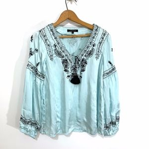 Nanette Lepore Light Blue Blouse